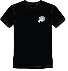 """Z """"ICON"""" T-Shirt: Black"""