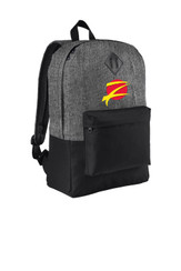 Z Logo Backpack - Heather Grey