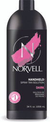 Norvell Dark Premium Spray Tan Solution, 34 oz