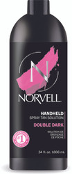 Norvell Double Dark Spray Tan Solution, 34 oz