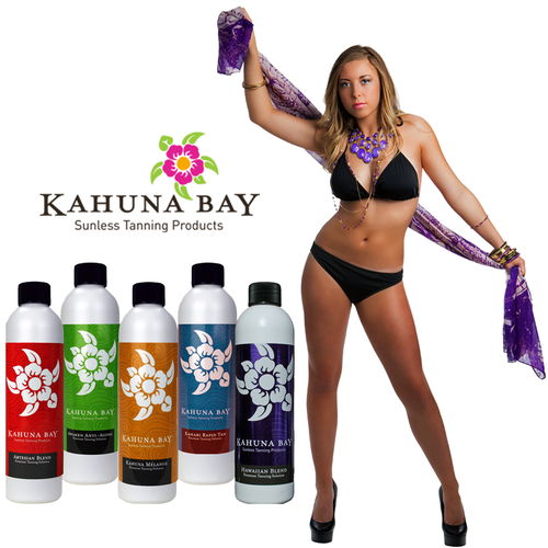 Kahuna Bay Tan Spray Tanning Solution Sampler Pack
