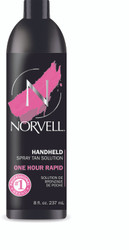 Norvell One Hour Rapid ONE Spray Tan Solution,  8 oz