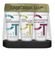 California Tan - Sunless Tanning Kit
