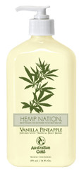 Australian Gold Hemp Nation Vanilla Pineapple Tan Extender Body Lotion, 18 oz