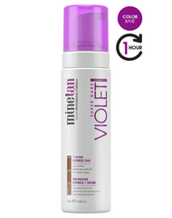 MineTan Violet Self Tan Foam, 6.7 oz