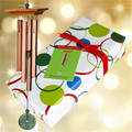 Turquoise Chime with Holiday Wrapping