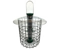 Sunflower Squirrel Proof Domed Cage Bird Feeder, Green