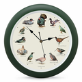 Game Bird Sound Clock, 8 Inch
