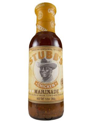 Stubb's Chicken Marinade - The Hot Sauce Stop