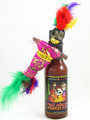 West African VooDoo Juice Hot Sauce with VooDoo Doll