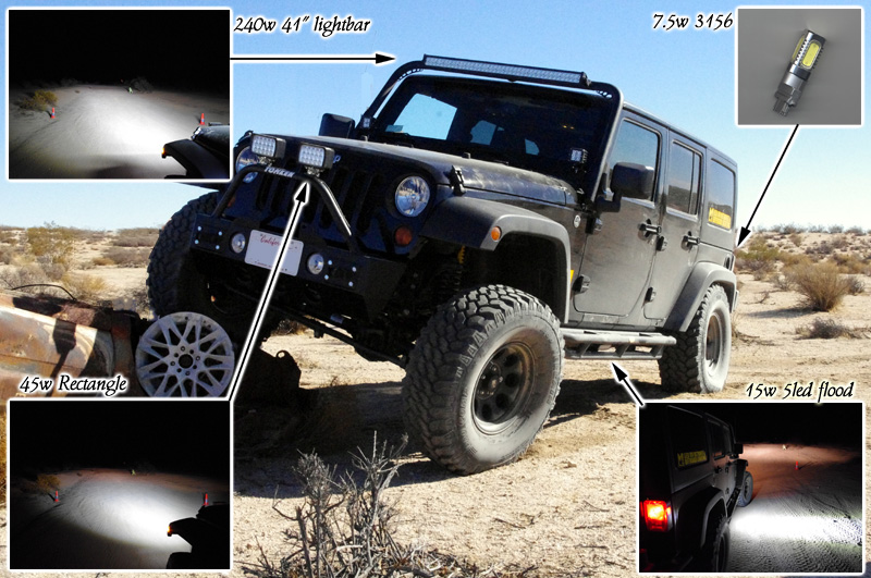 Lightbars and offroad lights from m4 led led off road spot flood light bars aloadofball Choice Image