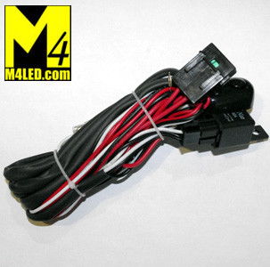 Outstanding Harness 2X1 Wire Harness With Relay And Switch For Two Lights M4 Wiring Cloud Hisonuggs Outletorg