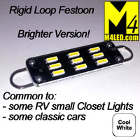 FESTOON-9-4014-RL-CW Cool White Rigid Loop Festoon 42mm