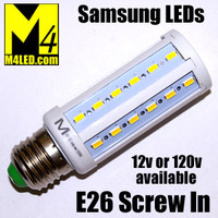 XW-9W-5630-A01-NW E26 Natural White DC12 Volt equivalent to 50w Incandescent with Samsung 5630 LEDs