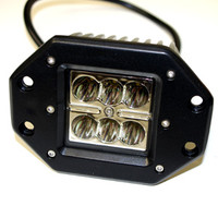 AK318-S2A-SPOT 18 Watt 6 LED Flush Mount Cube Light Spot Pattern