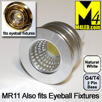 MR11-3COB-NW  Natural White MR11 Kit Fits Eyeball Fixtures