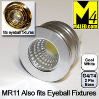 MR11-3COB-CW Cool White MR11 Kit Fits Eyeball Fixtures