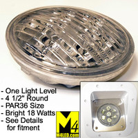 PAR36-18W-SH Outside Flood Light Sealed Replacement Bulb Cool White