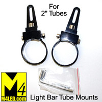 "Versatile Light Bar Mount for 2"" tubing - Pair"