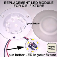 RETROFIT-6-5630-WIRE-WW Replacement for C.E. LED Fixture Warm White