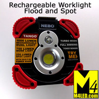 NEBO Rechargeable Work Light Spot and Flood (flashlight)