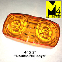 "4"" x 2"" LED Amber Clearance Light"