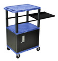 Tuffy Side Pullout Shelf Cart with Cabinet