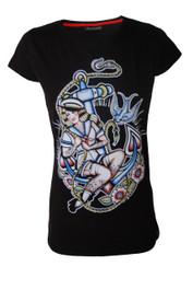 Anchor Girl Womens T Shirt