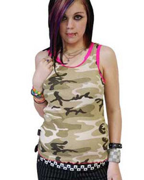 Camouflage Beater Vest
