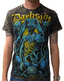 Coffin Acid Wash Vintage T Shirt
