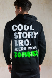 Cool Zombie Story  Zip Hood