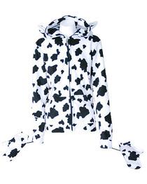 Fur Cow Hood