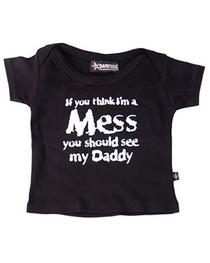 Im A Mess Baby T Shirt