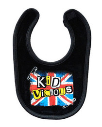Kid Vicious Black Bib