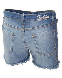 Light Blue Denim Cut Off Hot Pants