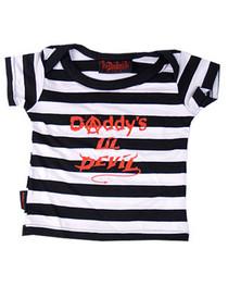 Lil Devil Stripey Baby T-Shirt