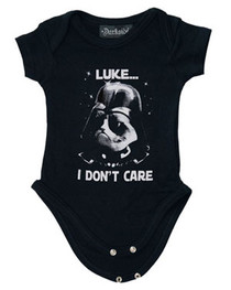 Luke I Dont Care Baby Grow