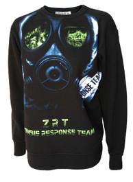 Zombie Face Mask Unisex Sweatshirt