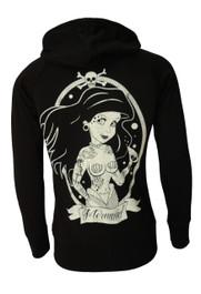 Mermaid Cotton Zip Hood (Unisex)