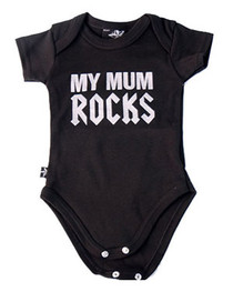 Mum Rocks Baby Grow