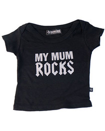 Mum Rocks Baby T Shirt