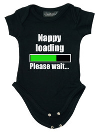 Nappy Loading Baby Grow