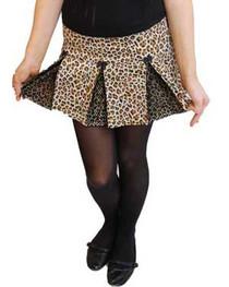 Natural Leo Ultra Mini Skirt