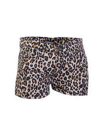 Natural Leopard Hot Pants