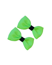 Pair Of Green Hairbows