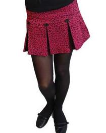 Pink Leo Ultra Mini Skirt