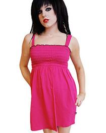 Pink Smock Dress
