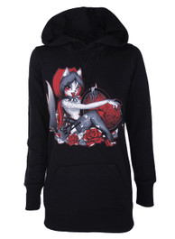 Red Riding Hood Long Pullover Hood