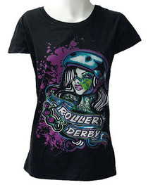 Roller Derby Womens T Shirt