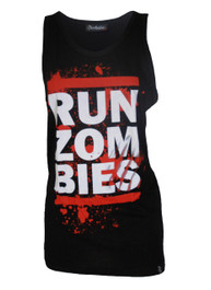 Run Zombies Black Vest